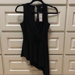 Asymmetrical black top!